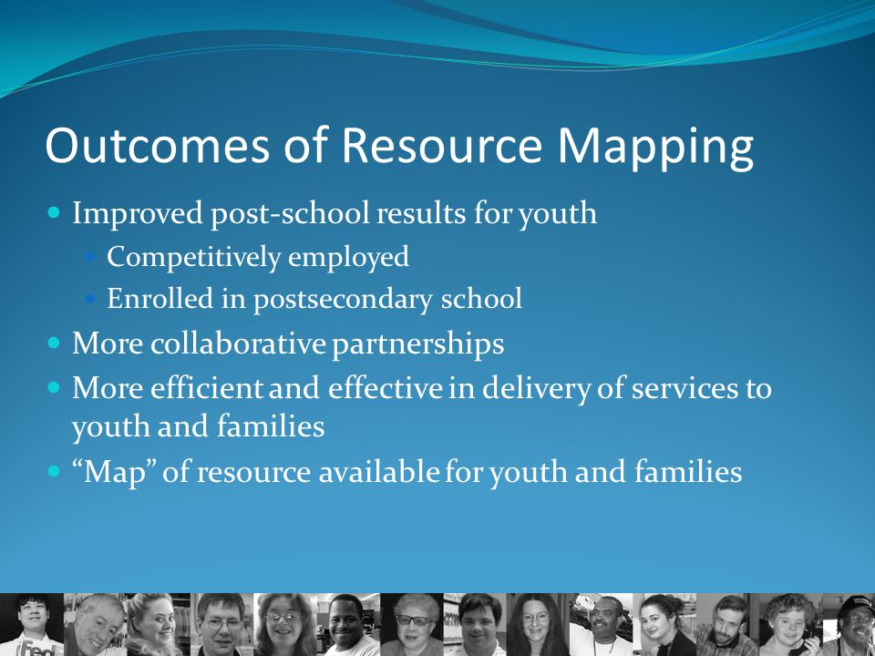 Outcomes of Resource Mapping
