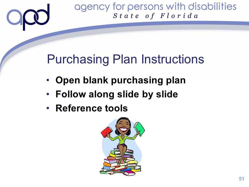 Purchasing Plan Instructions