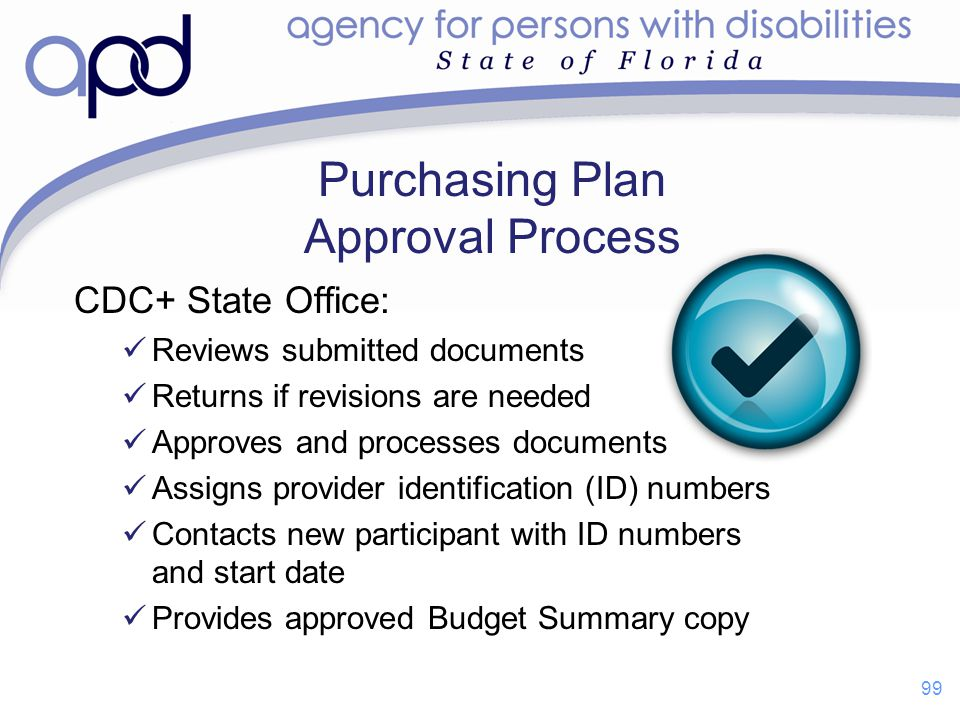 Purchasing Plan Approval Process