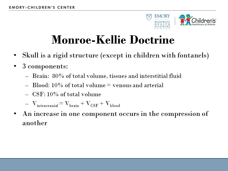 Monroe-Kellie Doctrine