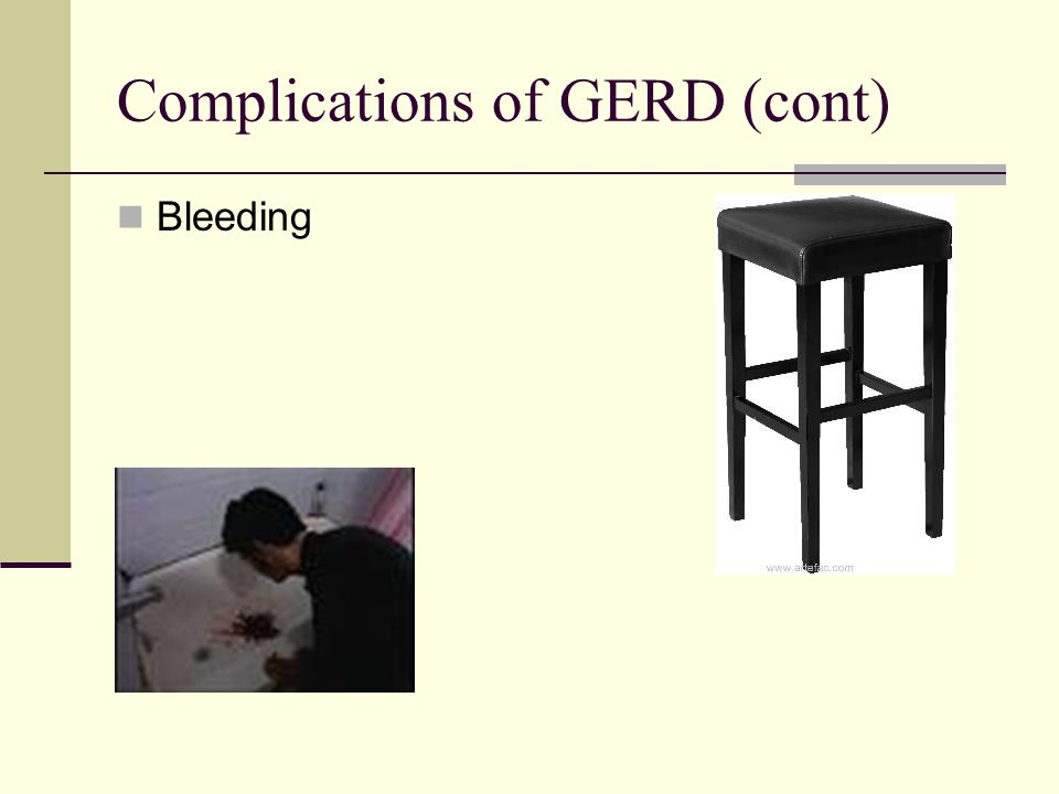 Complications of GERD (cont)