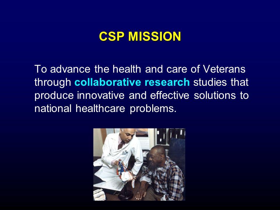 CSP MISSION