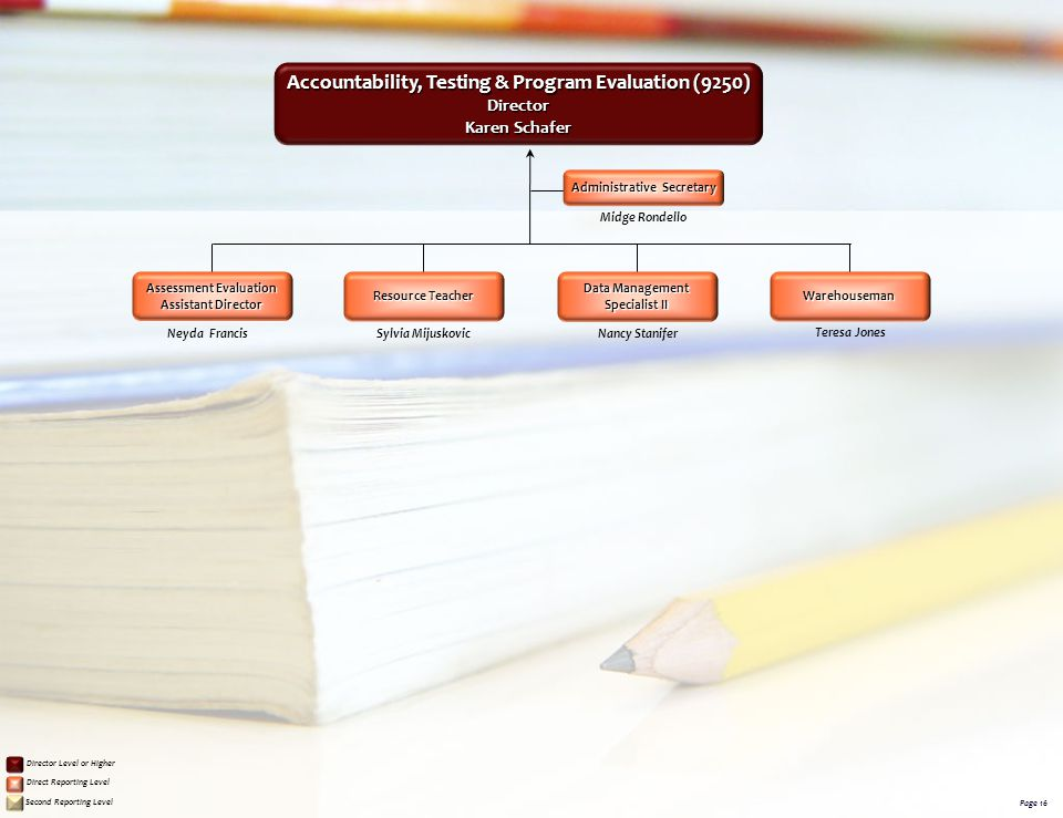 Accountability, Testing & Program Evaluation (9250)