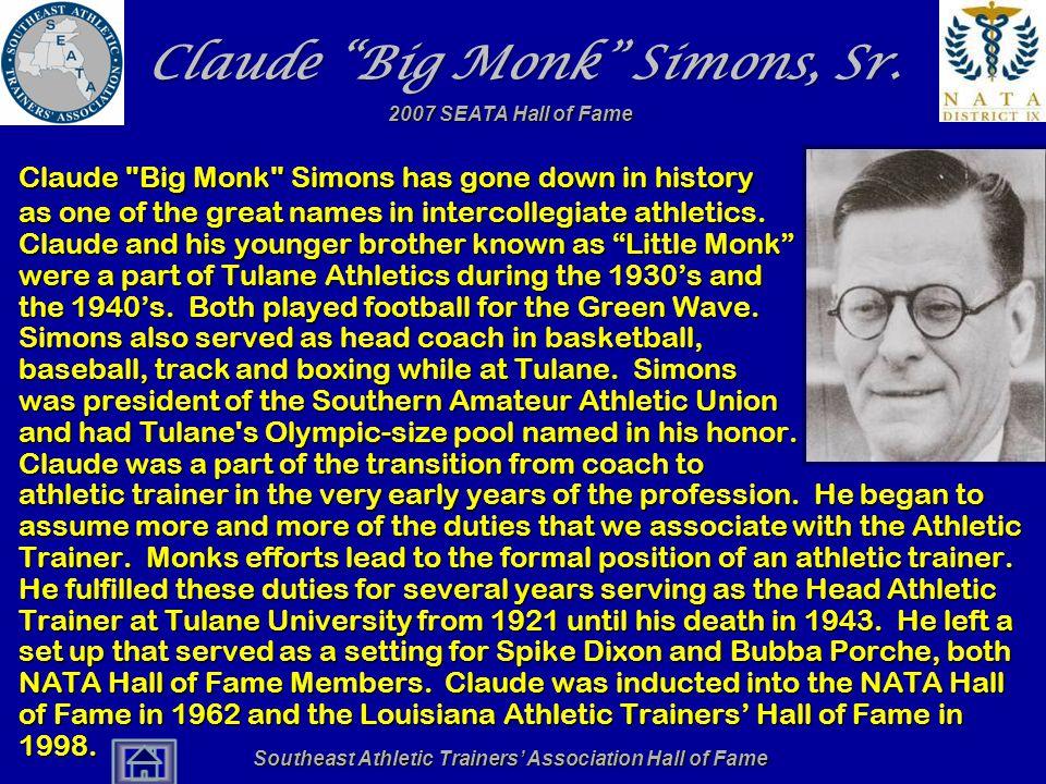 Claude Big Monk Simons, Sr.
