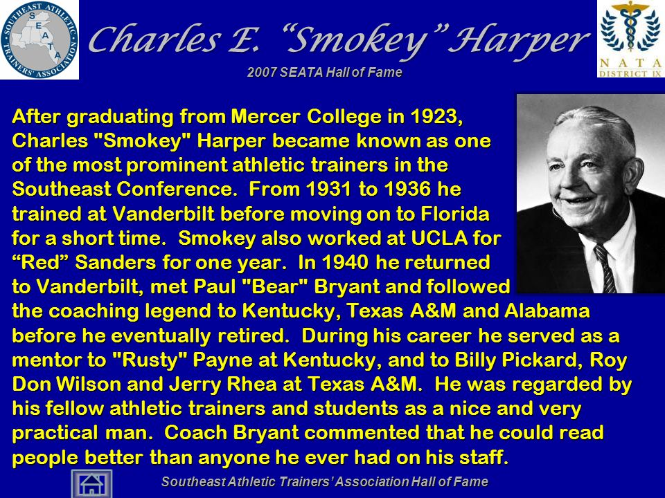 Charles E. Smokey Harper