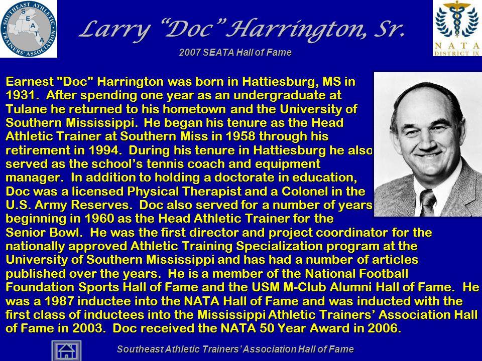 Larry Doc Harrington, Sr.