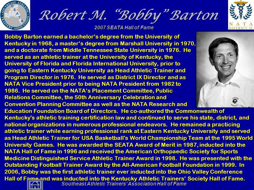 Robert M. Bobby Barton