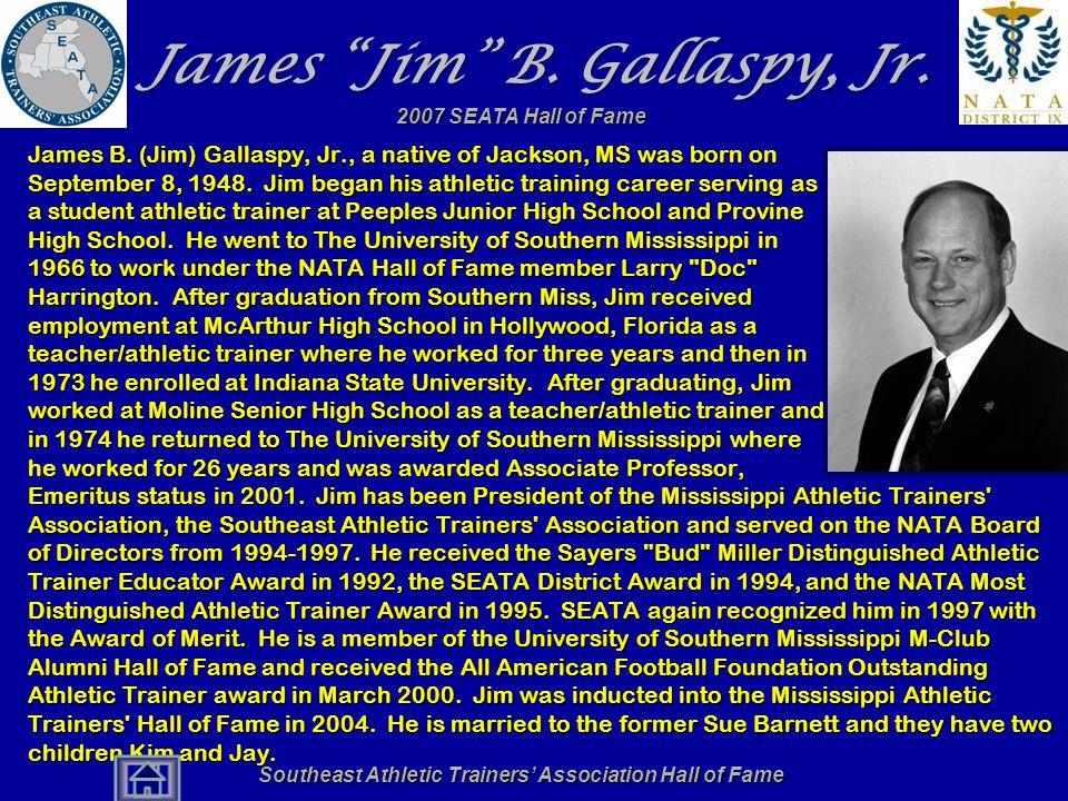 James Jim B. Gallaspy, Jr.