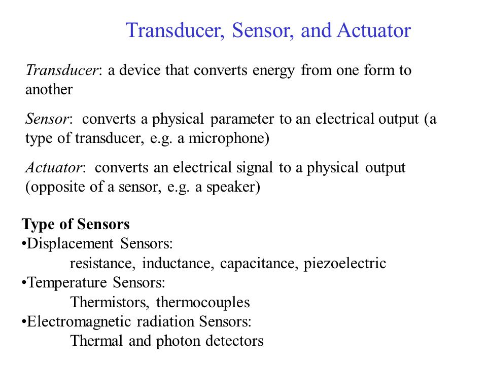 Transducer, Sensor, and Actuator