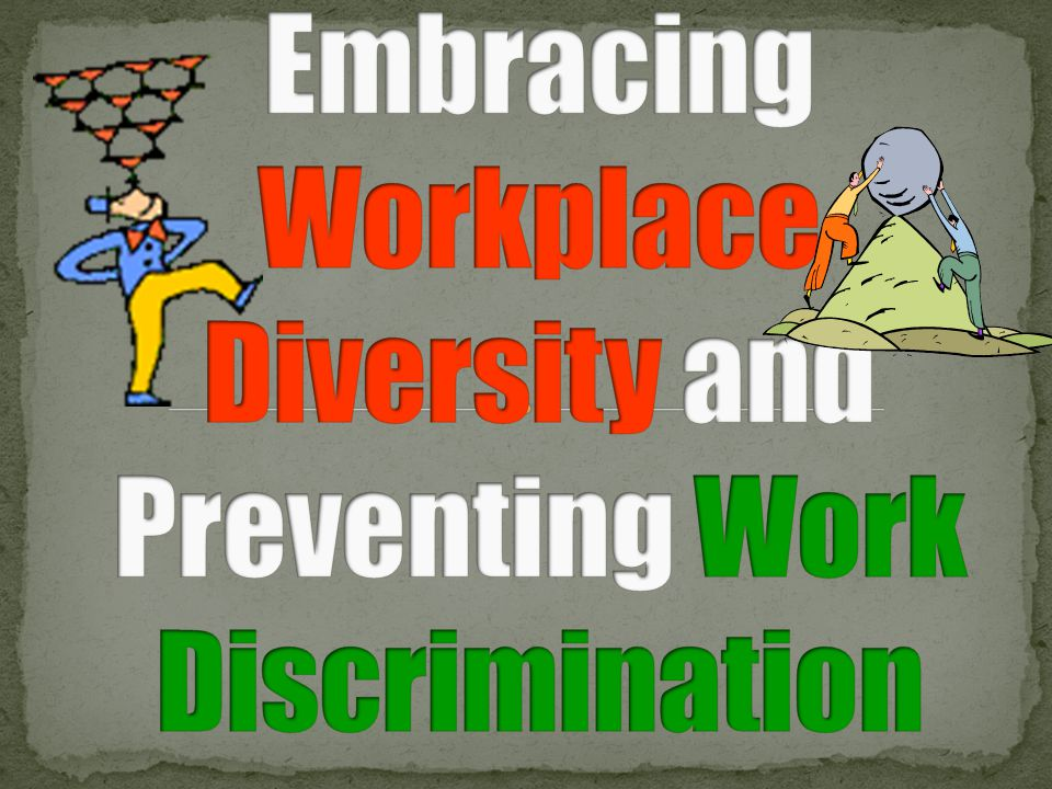 diversity and discrimination in the workplace Now new research from cmi demonstrates how rife discrimination is across   workplace discrimination blocking progress on gender diversity.