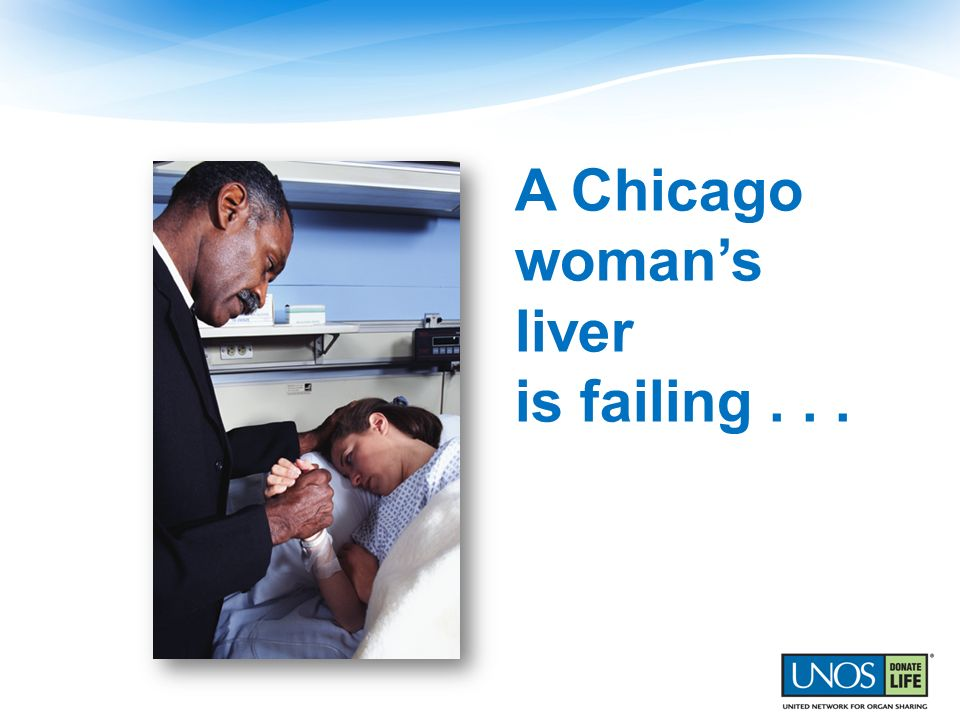 A Chicago woman's liver