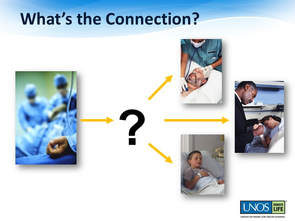 What's the Connection [Read from slide]