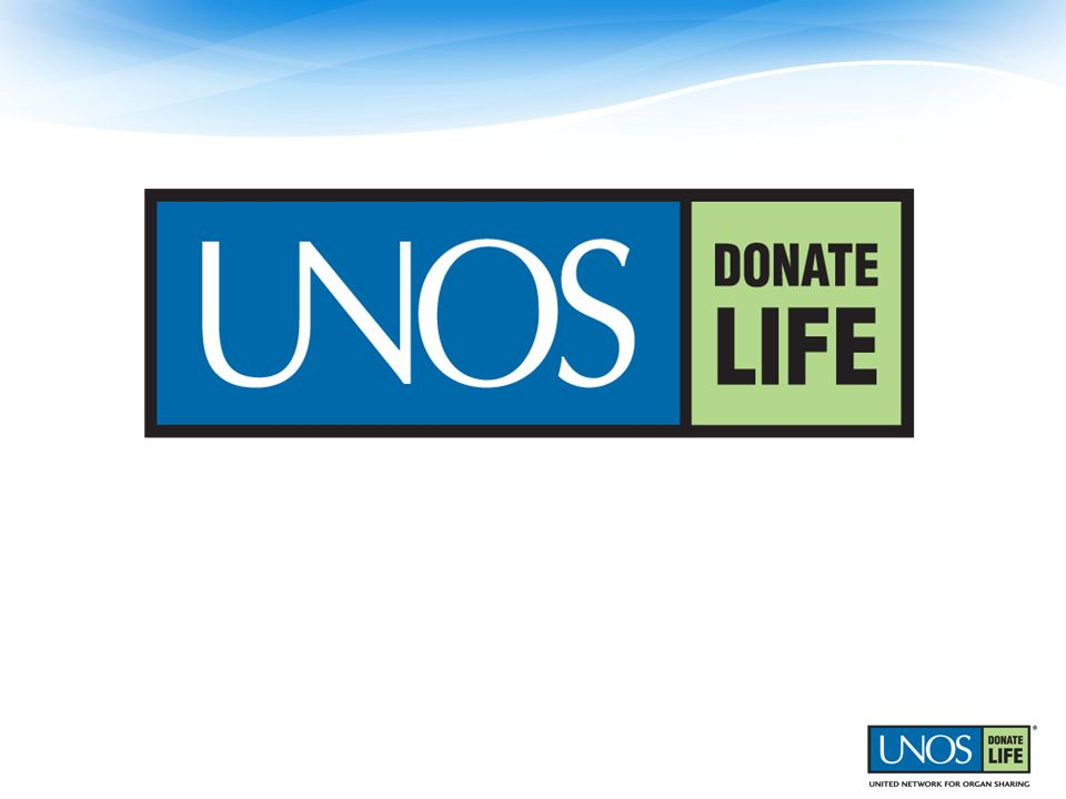 UNOS, the United Network for Organ Sharing, matches donated organs to people who are waiting for transplants.
