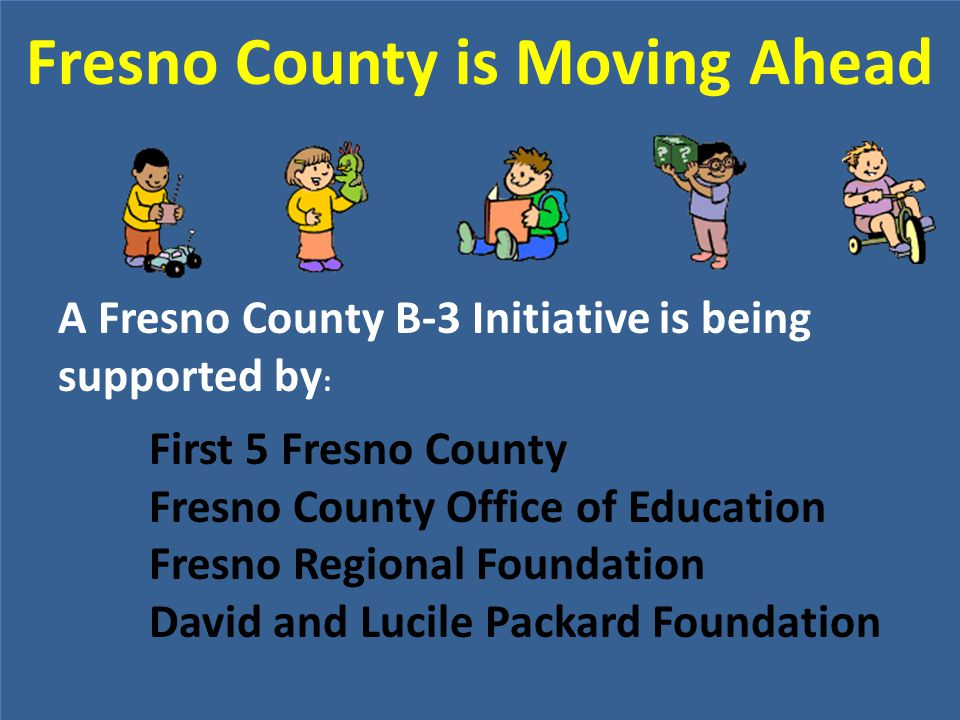 Fresno County is Moving Ahead