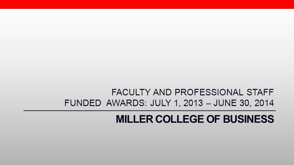 Miller College of Business