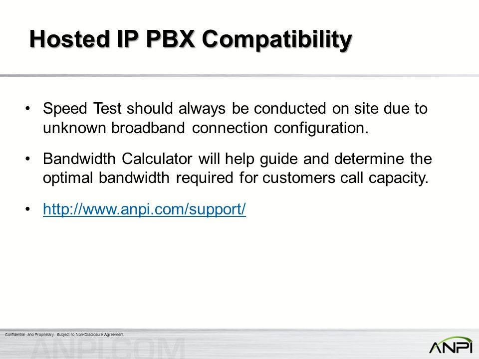 Hosted IP PBX Compatibility