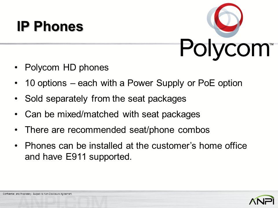 IP Phones Polycom HD phones