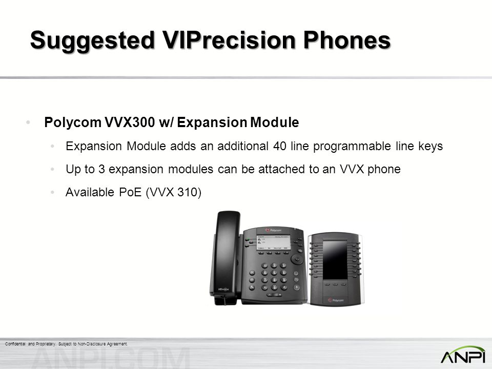 Suggested VIPrecision Phones