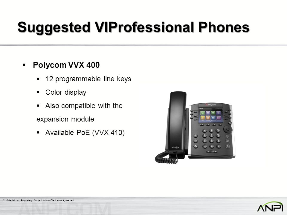Suggested VIProfessional Phones