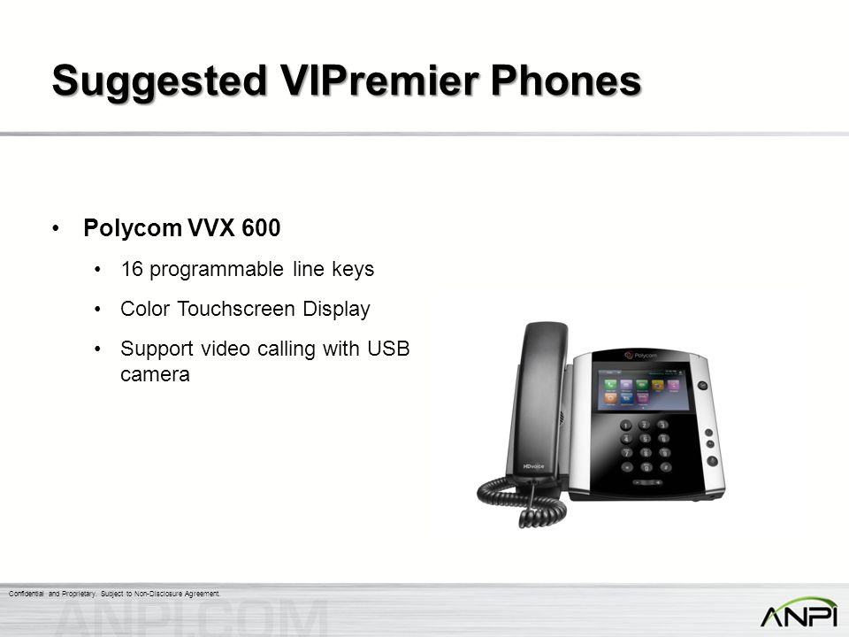 Suggested VIPremier Phones