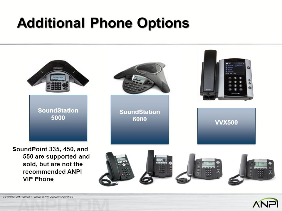 Additional Phone Options