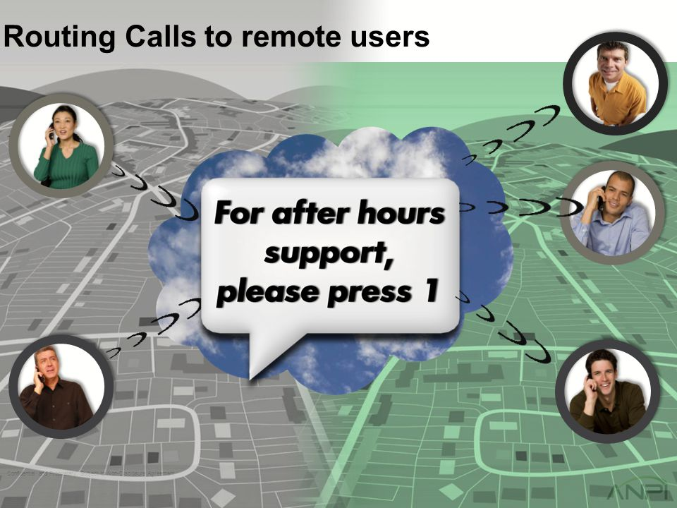 Routing Calls to remote users