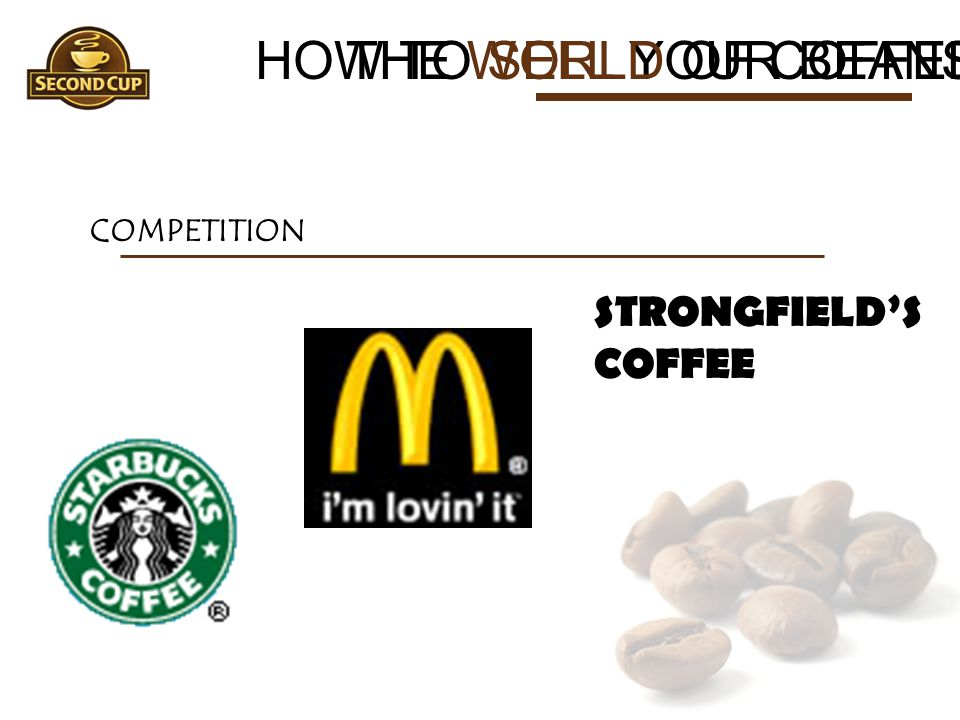 HOW TO SELL YOUR BEANS THE WORLD OF COFFEE STRONGFIELD'S COFFEE