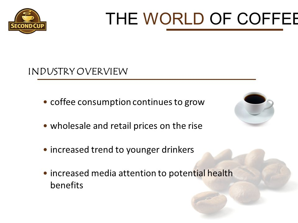 THE WORLD OF COFFEE INDUSTRY OVERVIEW