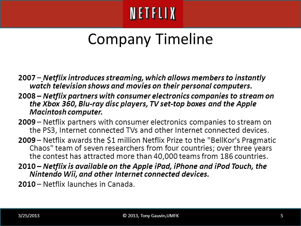 Netflix in Two Acts  The Making of an E commerce Giant   ppt video     SP ZOZ   ukowo