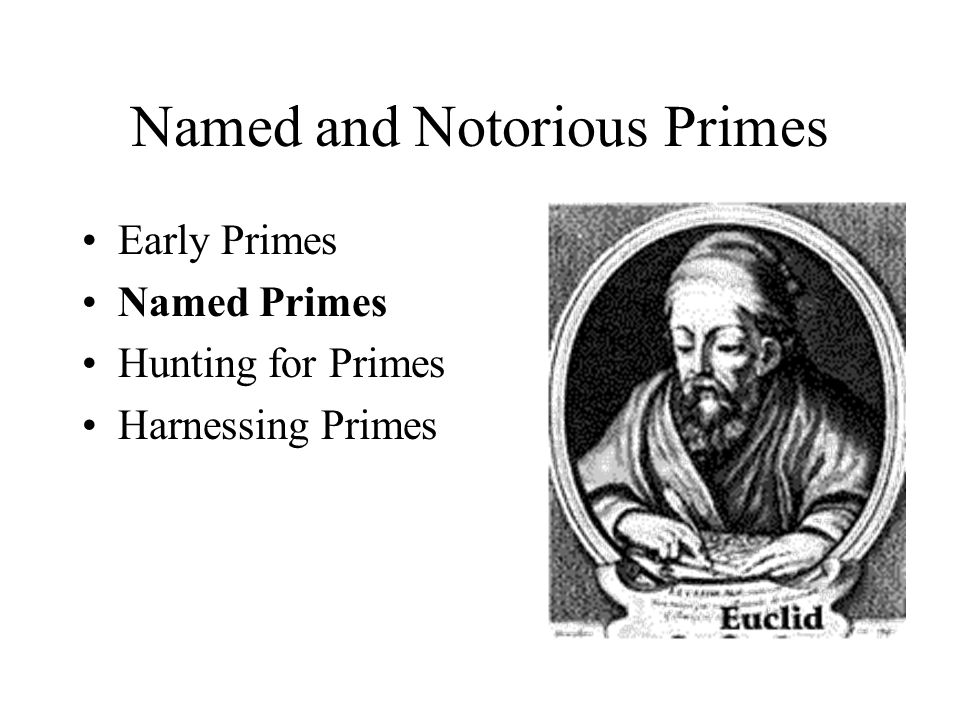 Named and Notorious Primes
