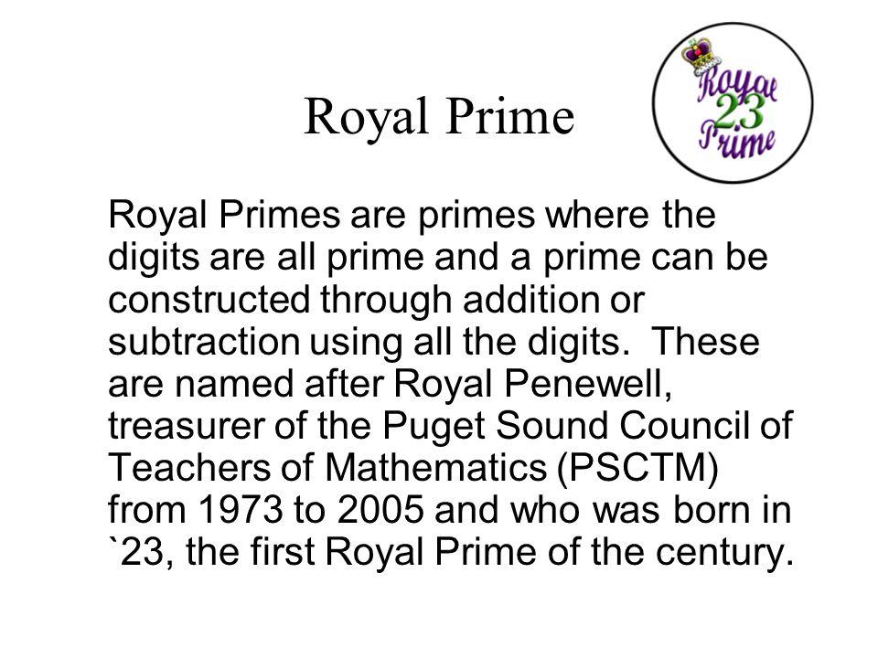 Royal Prime