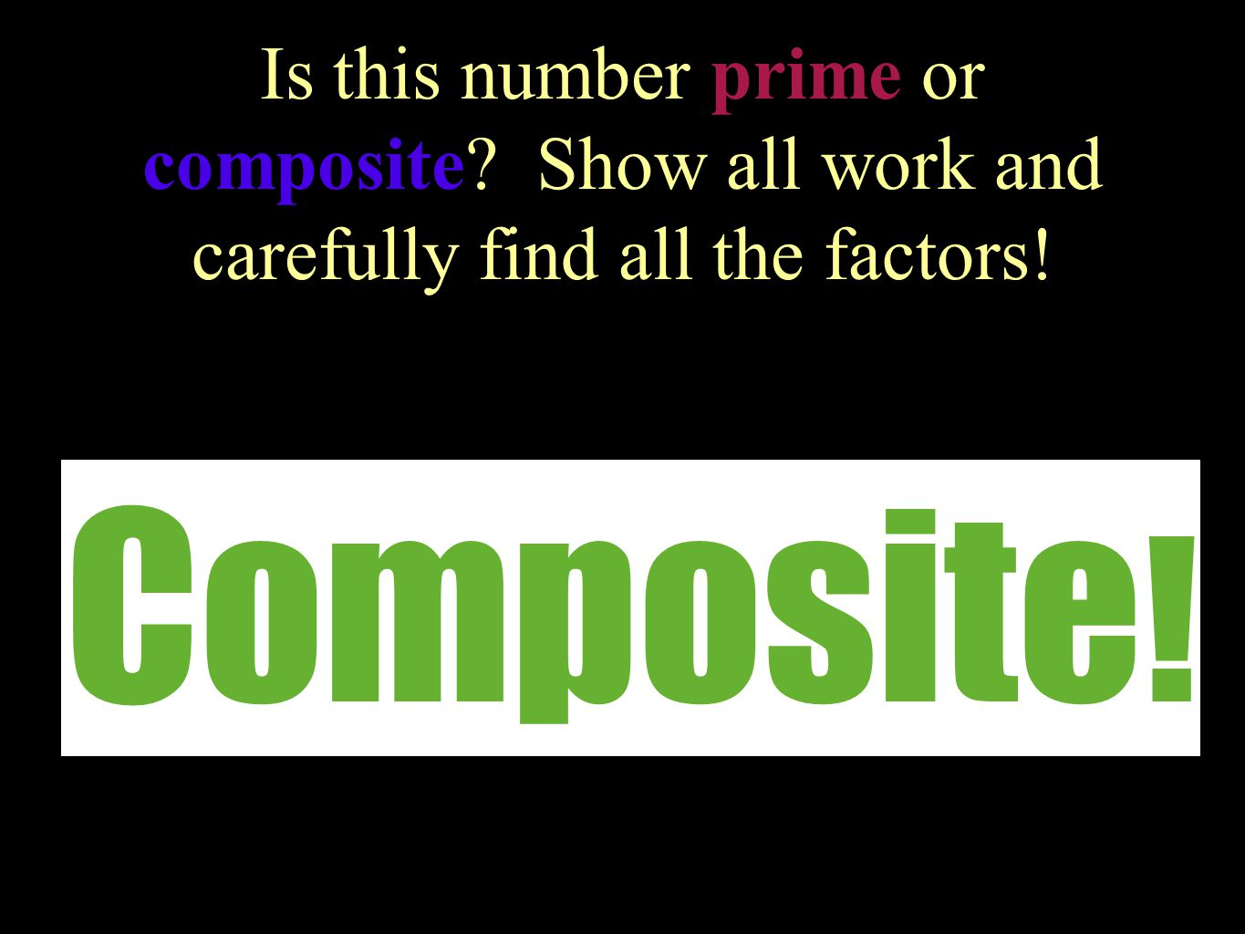 Is this number prime or composite