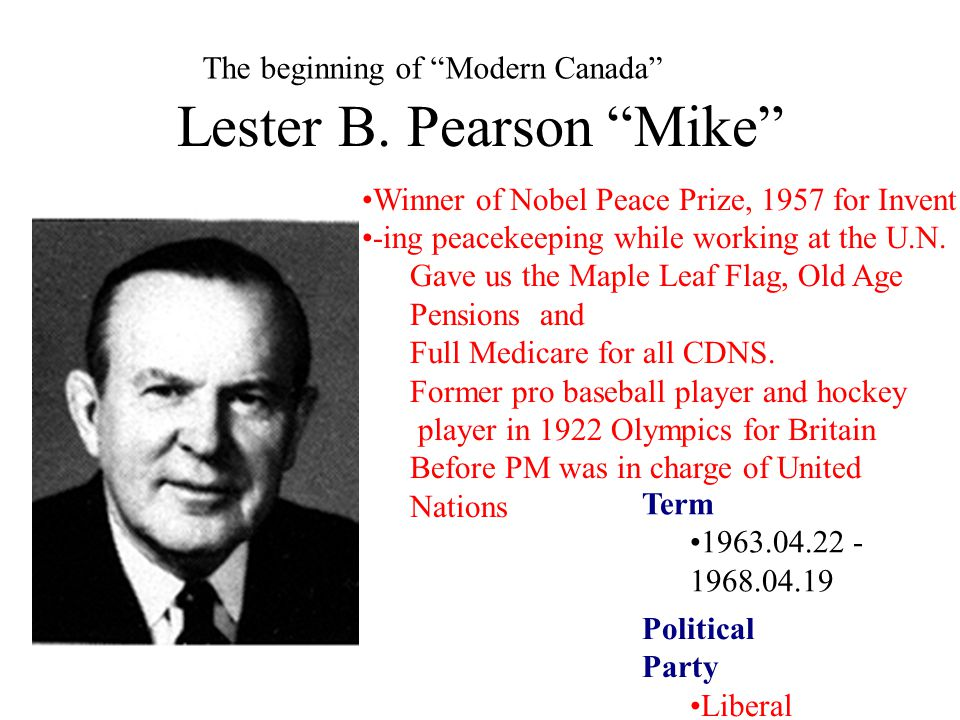 Lester B. Pearson Mike