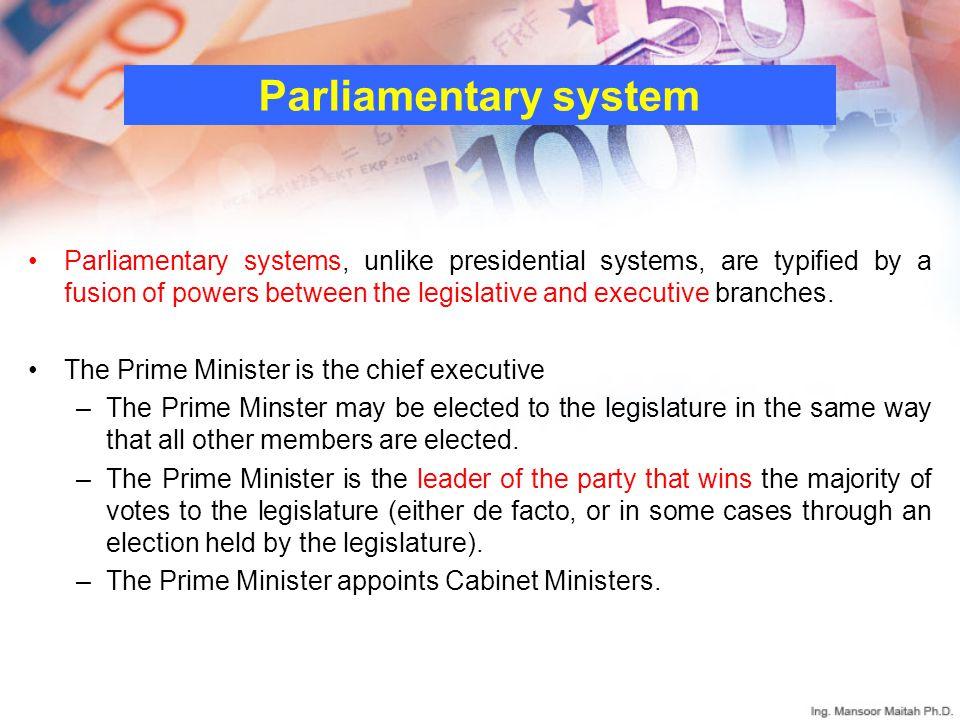 Parliamentary system