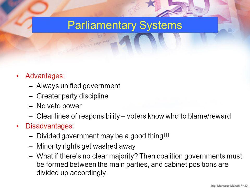 Parliamentary Systems