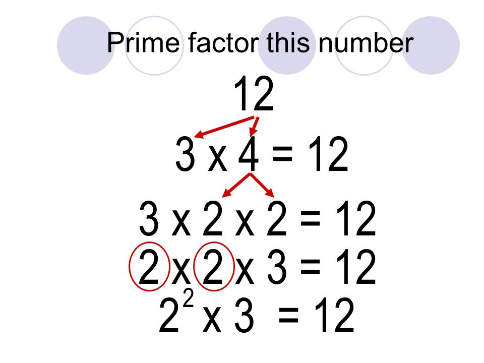 Prime factor this number