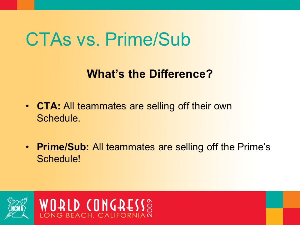 CTAs vs. Prime/Sub What's the Difference