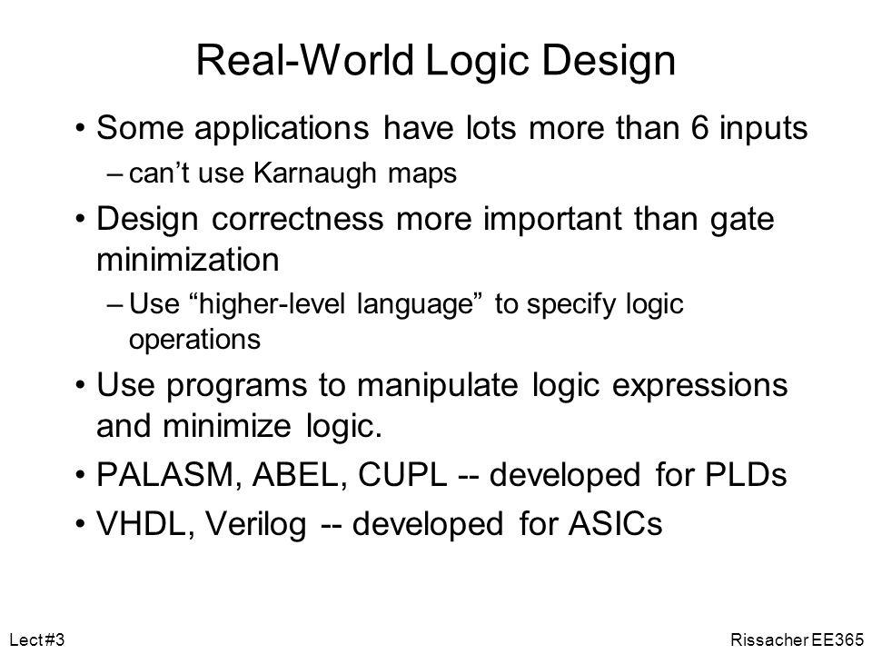 Real-World Logic Design