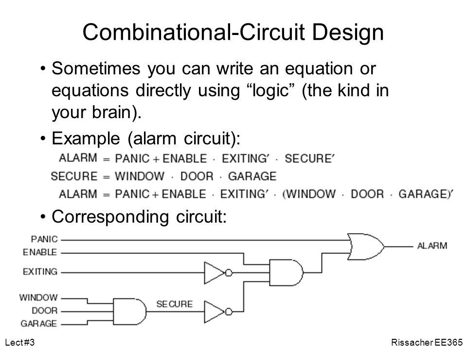 Combinational-Circuit Design