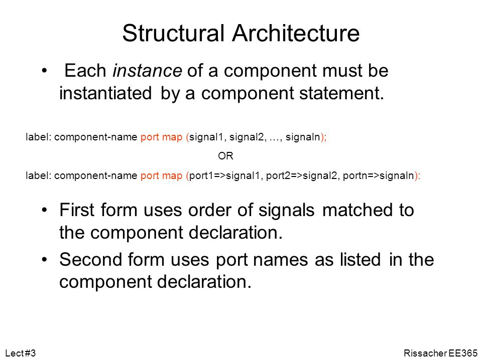 Structural Architecture