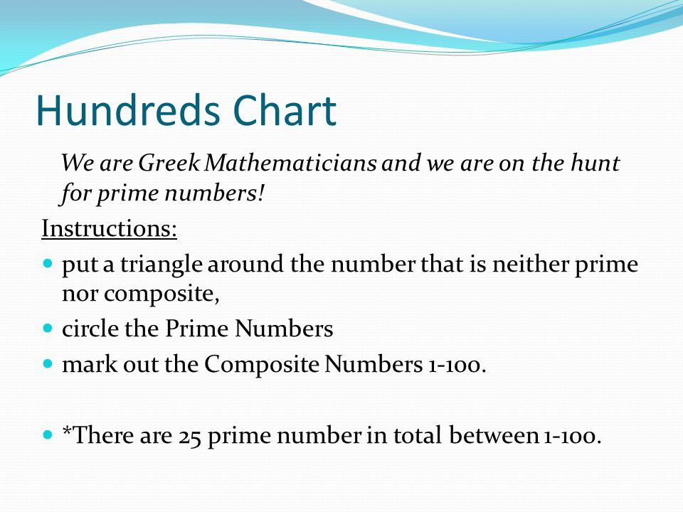 Prime And Composite Numbers - Ppt Download