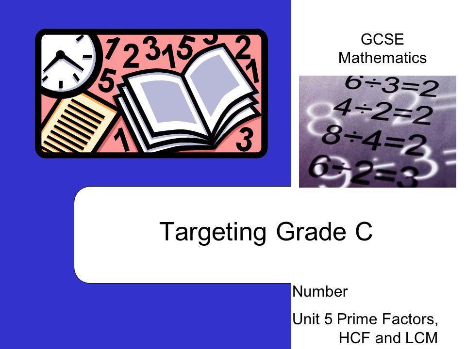 Targeting Grade C GCSE Mathematics Number