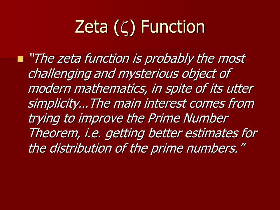 Zeta (z) Function