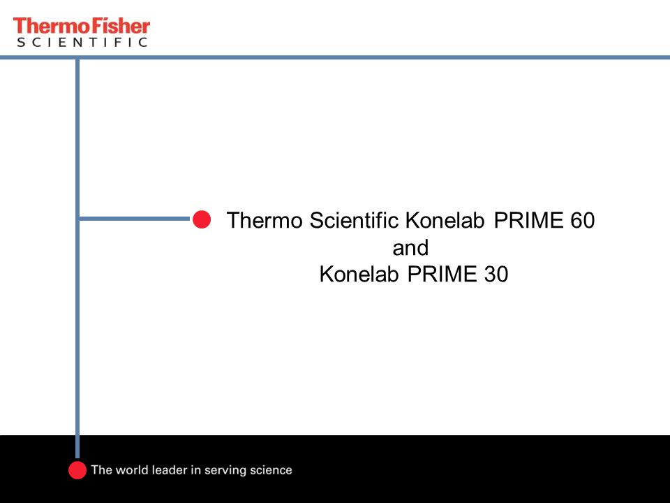 Thermo Scientific Konelab PRIME 60 and Konelab PRIME 30