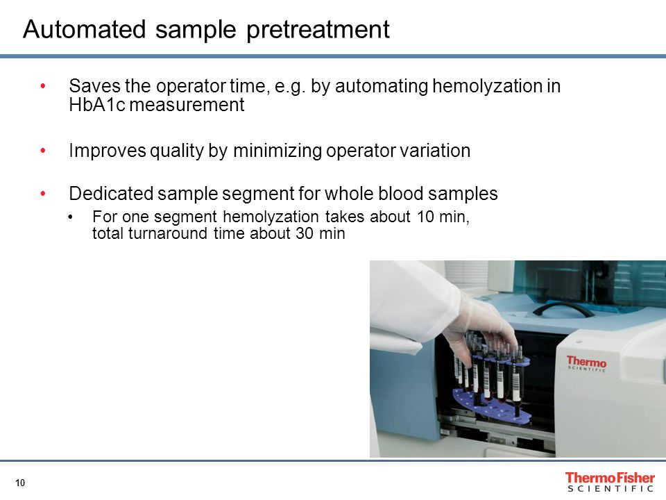Automated sample pretreatment