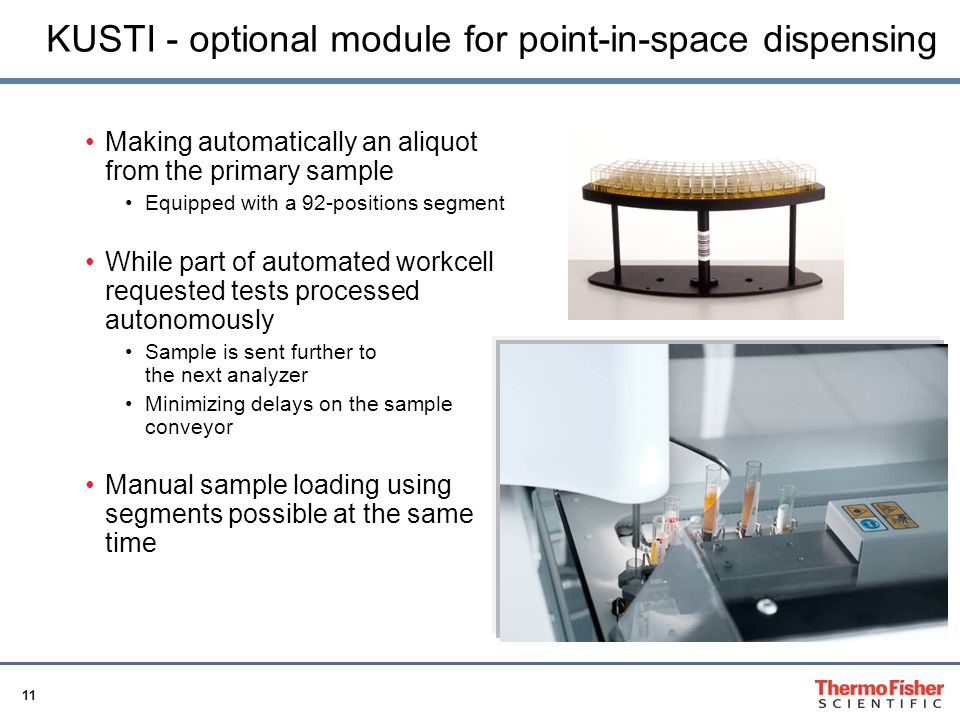KUSTI - optional module for point-in-space dispensing
