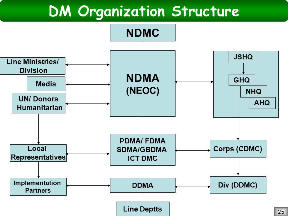 DM Organization Structure