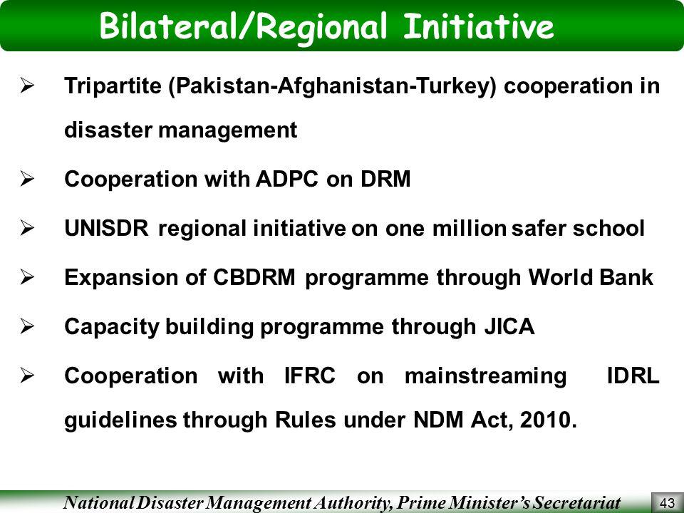 Bilateral/Regional Initiative