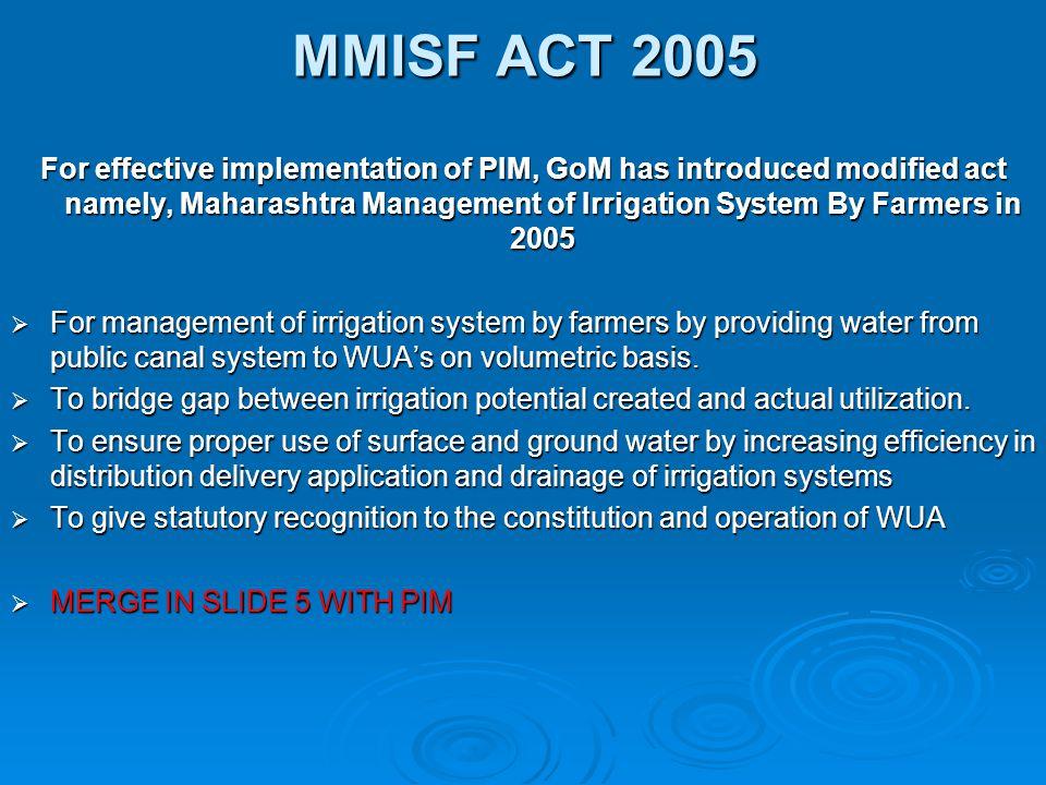 MMISF ACT 2005