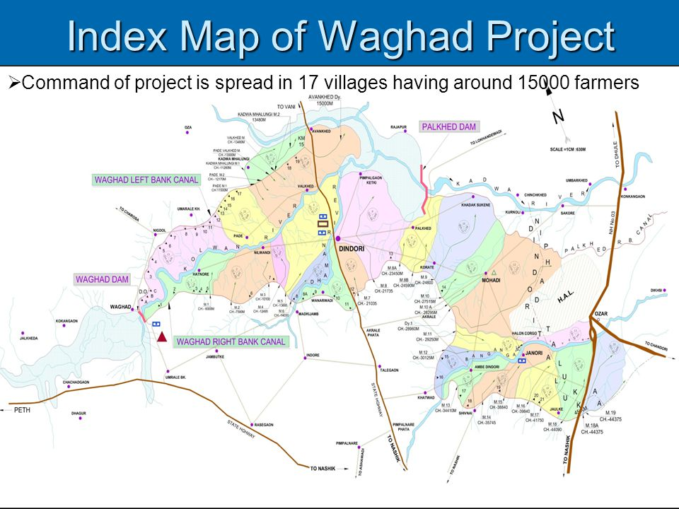 Index Map of Waghad Project